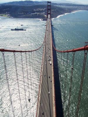 1969 Golden Gate Bridge
